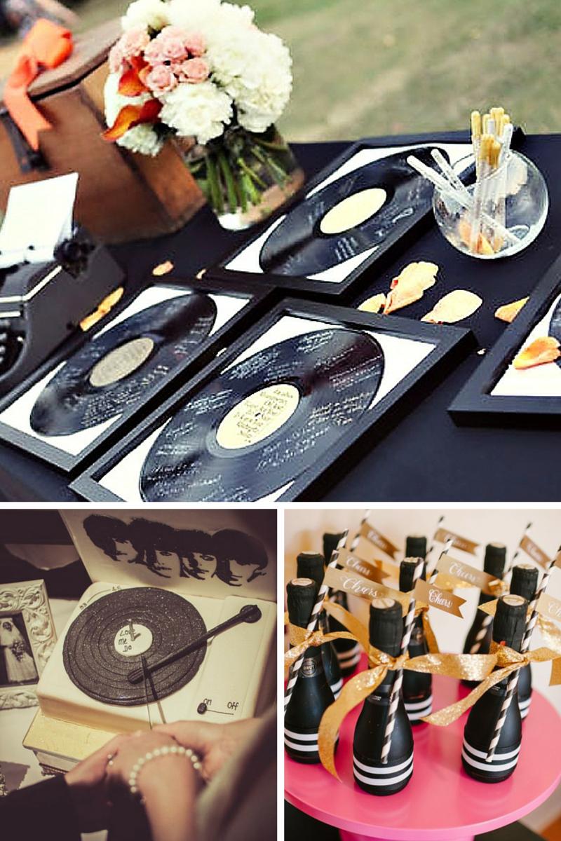 Wedding Theme Like A Record Baby